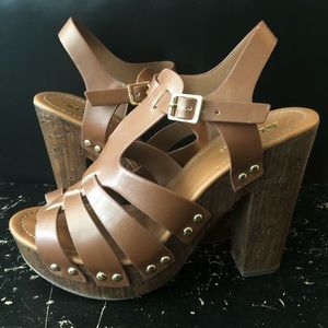 ***REDUCED*** SODA Brand Platform Heels Sz. 7.5